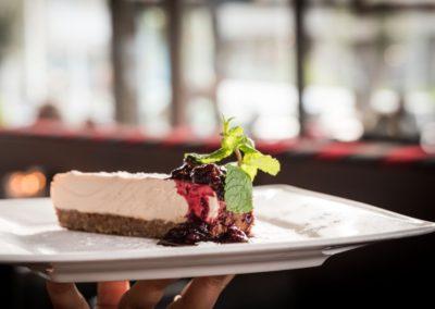 Gebak van Restaurant-Bar-Terras Villa Lago in Leidschendam