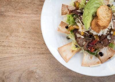Vleesgerecht van Restaurant-Bar-Terras Villa Lago in Leidschendam