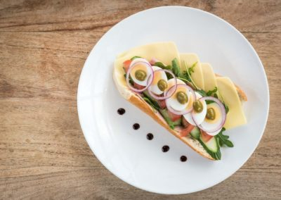 Baguette gezond van Restaurant-Bar-Terras Villa Lago in Leidschendam