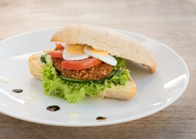 Belegd broodje van Restaurant-Bar-Terras Villa Lago in Leidschendam