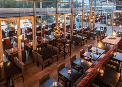 Serre van Restaurant-Bar-Terras Villa Lago in Leidschendam